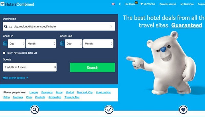 Booking Holdings adquiere HotelsCombined