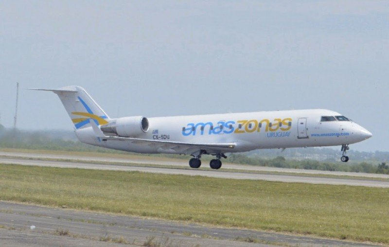 Amaszonas Uruguay suma cuarto vuelo semanal entre Montevideo y Córdoba