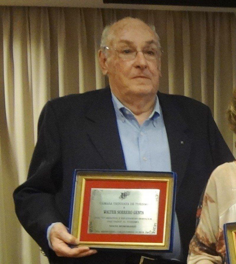 El turismo de Uruguay despidió a Walter Sobrero