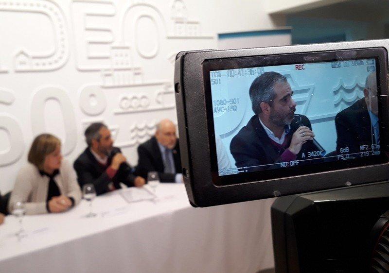 Óscar Curutchet, director de Desarrollo Económico de la Intendencia de Montevideo, del que depende la Dirección de Turismo.