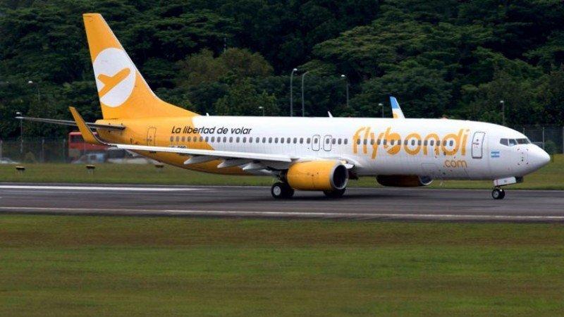 Fiscal pide que se suspendan las operaciones de Flybondi