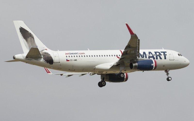 JetSmart transportó 1,2 millones de pasajeros y bajó 30% las tarifas en un año