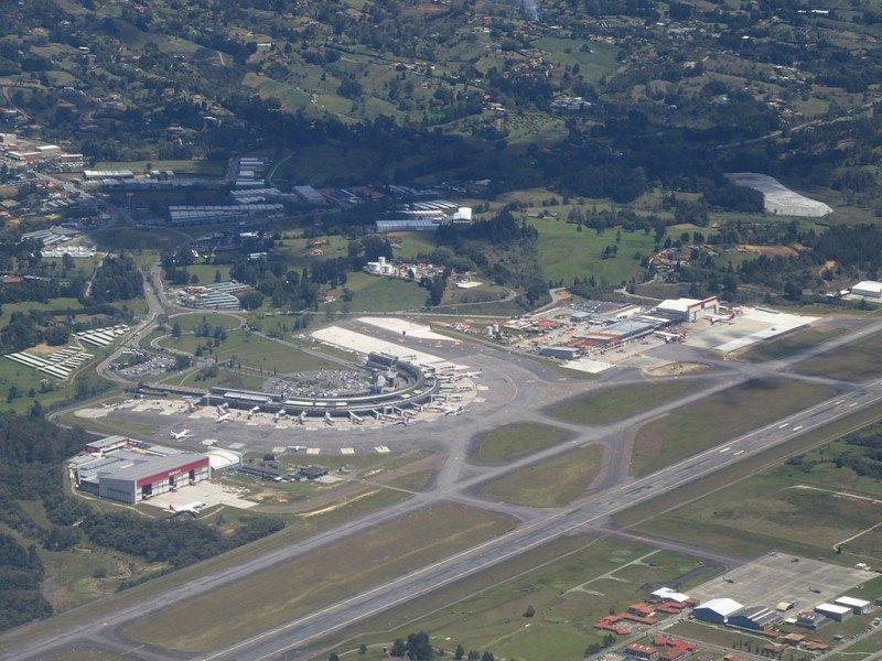 Aeropuerto José María Córdova de Medellín.