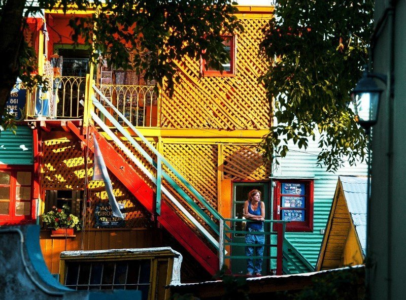 Caminito, barrio La Boca en ciudad de Buenos Aires. (Foto: Ente de Turismo de la Ciudad de Buenos Aires)