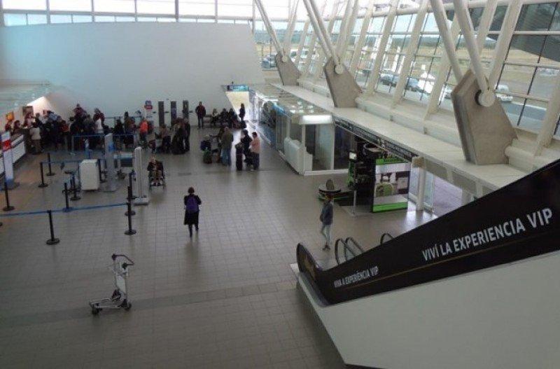 Aeropuerto de Laguna del Sauce, en Punta del Este.