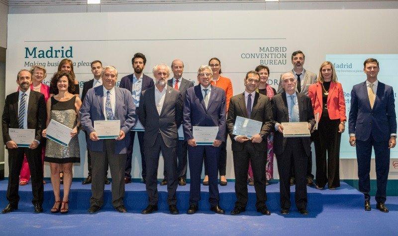 Imagen Madrid rinde homenaje a nuevos prescriptores del turismo de congresos