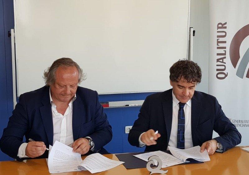 Imagen ICTE y la Agencia Valenciana de Turismo firman un convenio