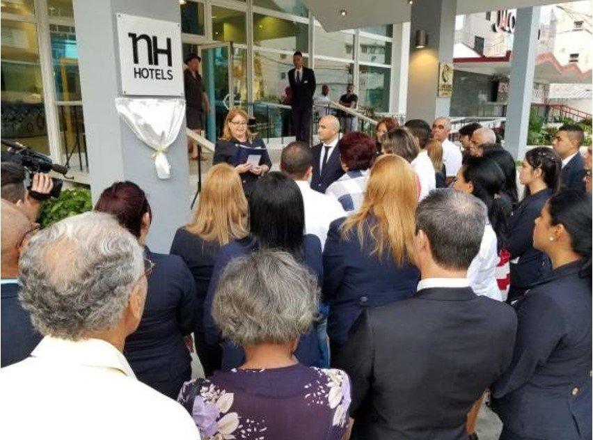 Imagen NH mejora la calidad de sus servicios en Cuba