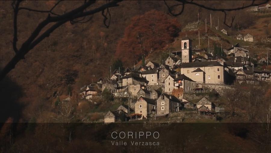 El pueblo está en el cantón del Tesino y pertenece al distrito de Locarno. Foto: Fundación Corippo.