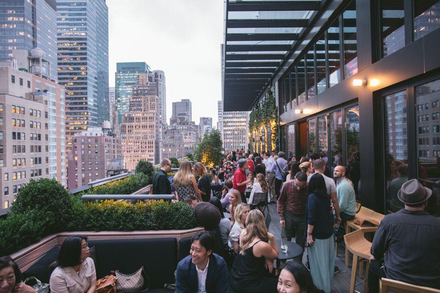 Cóctel de inauguración del AC Hotel New York Times Square.