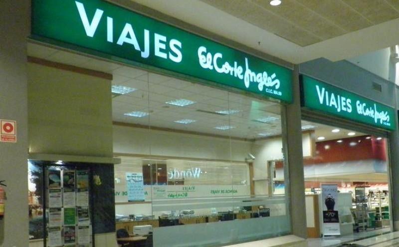 Imagen Viajes El Corte Inglés vende un 5,7% más gracias a sus turoperadores