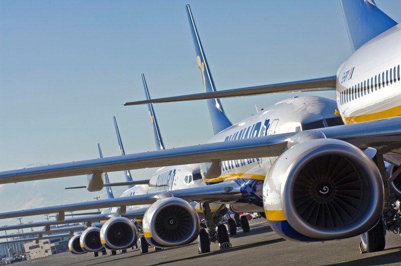 Imagen Impactos del primer día de huelga en Ryanair