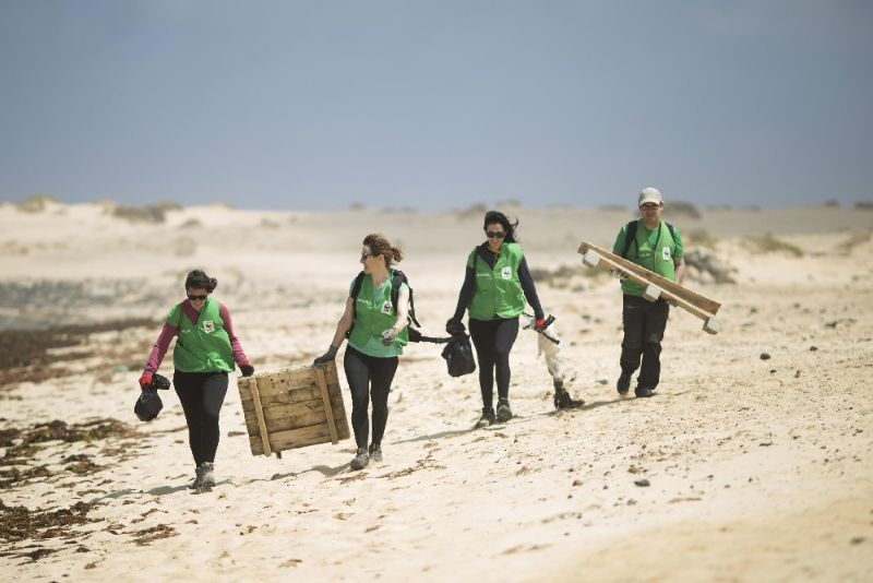 Imagen El plástico amenaza a la isla canaria de La Graciosa