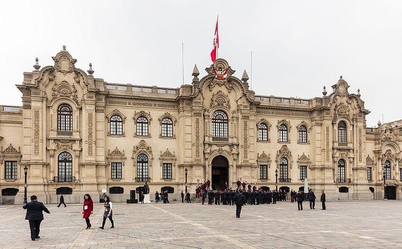 Palacio de Gobierno Perú.