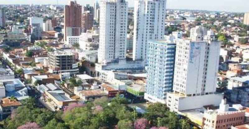 Zona hotelera de Asunción. Foto: Senatur