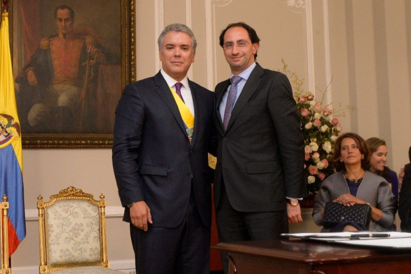 El presidente Iván Duque tomó juramento a José Manuel Restrepo como nuevo Ministro de Comercio, Industria y Turismo.