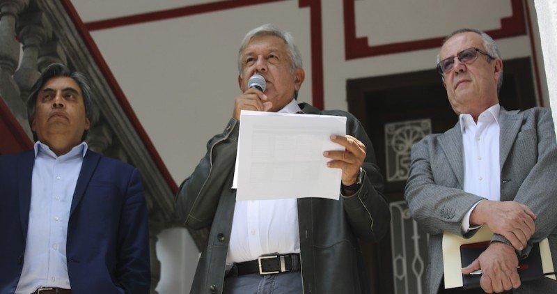 Lo confirmó este lunes el electro presidente de México, Andrés Manuel López Obrador.