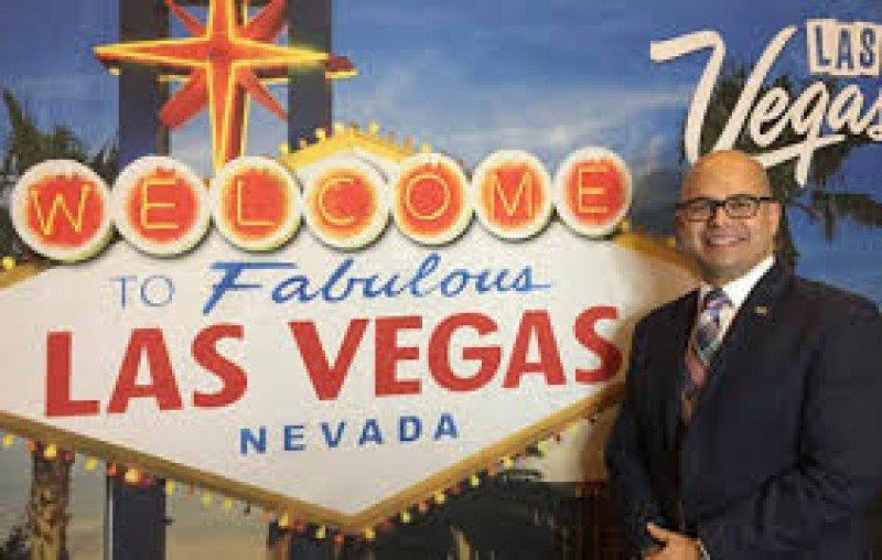 Fernando Hurtado, de la Autoridad de Visitantes y Convenciones de Las Vegas. Foto: Nitu.