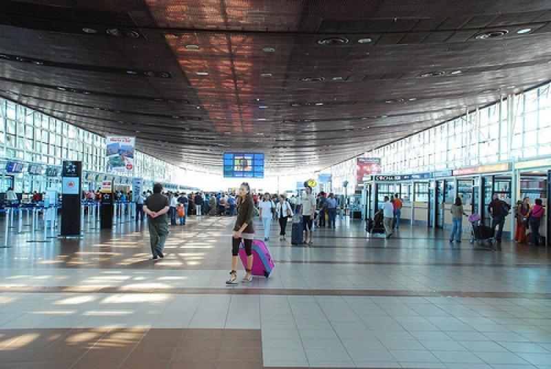 Aeropuerto Nuevo Pudahuel de Santiago de Chile.