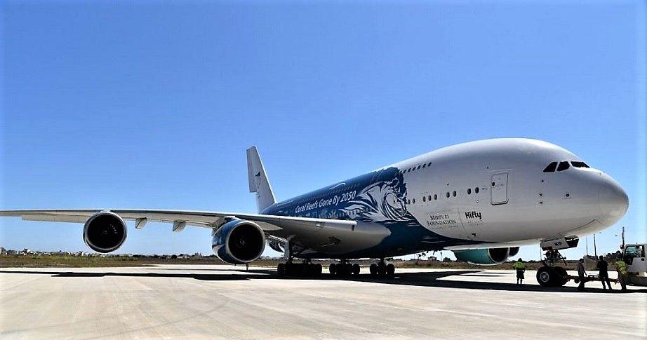 Imagen Thomas Cook Airlines Scandinavia opera un vuelo a Mallorca con el A380