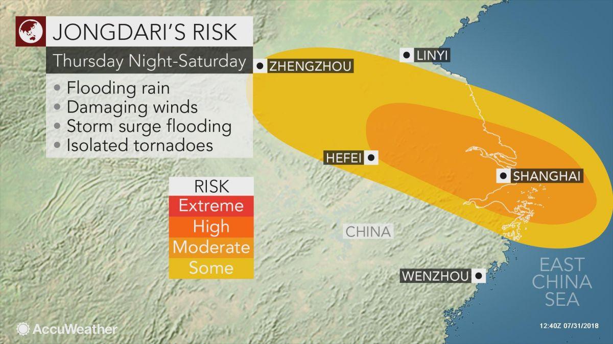Imagen Más de 150 vuelos cancelados y 88.000 evacuados por un tifón en China