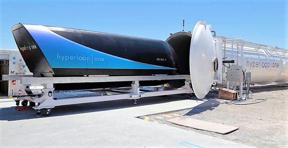 Imagen El tren cápsula Hyperloop tendrá su centro mundial de pruebas en España