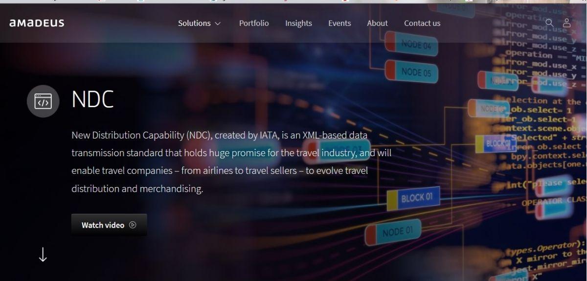 Imagen American Express y CWT se adhieren al NDC-X de Amadeus