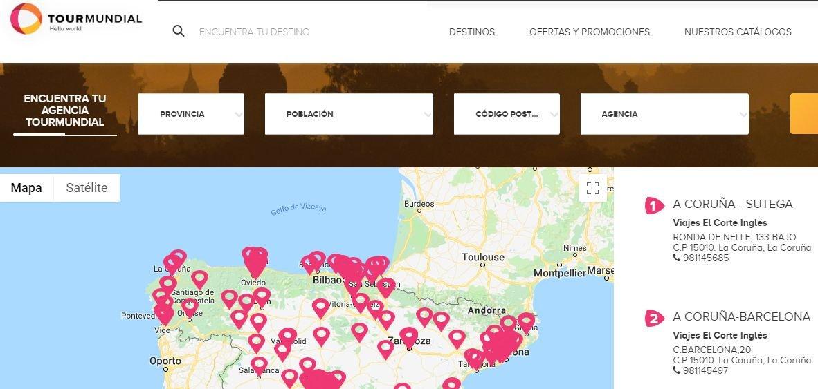 Imagen Tourmundial, de VECI, prepara su web para la salida al mercado de agencias