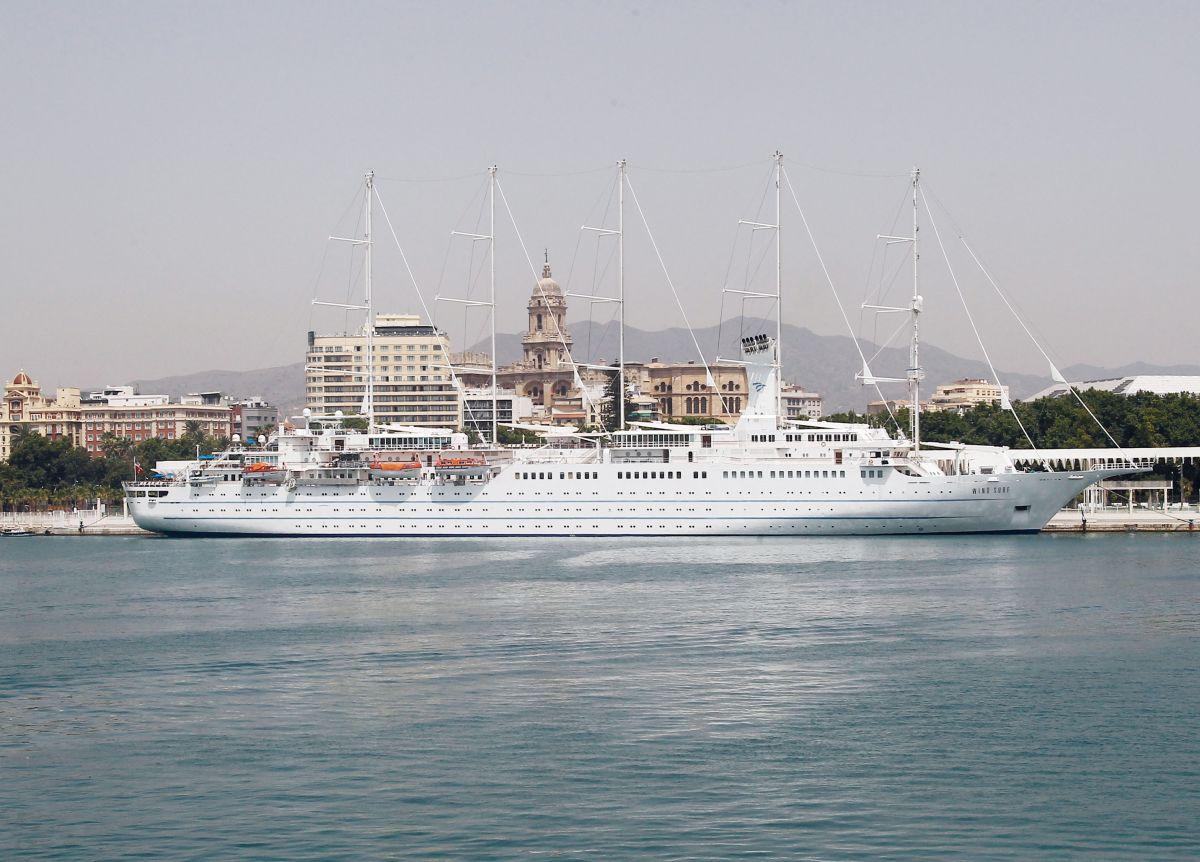 Imagen Los cruceristas de lujo ya son el 25% del total en Málaga