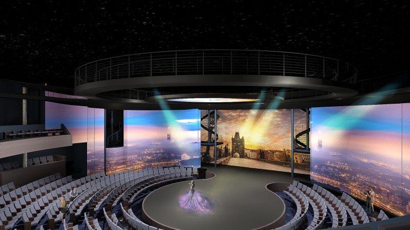 Imagen Tecnología y cruceros, un paso más con el teatro futurista
