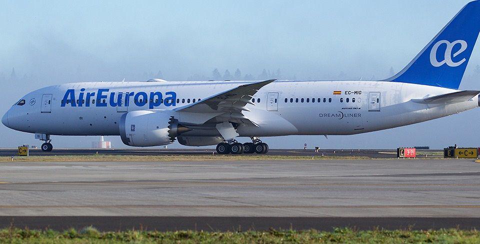 Imagen Air Europa aplaza un año su ruta Madrid-Puerto Iguazú