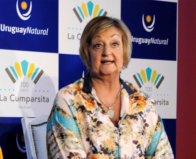 Ministra Liliam Kechichian en la presentación de temporada 2017/2018 en Buenos Aires.
