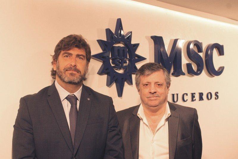 De izq a dcha: Javier Massignani y Pablo Laudonia.