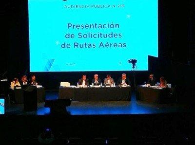 Argentina: nueve empresas pedirán 792 rutas en la nueva audiencia pública