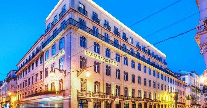 Pestana CR7 Lisboa, uno de los dos únicos hoteles de la marca que ya están abiertos.