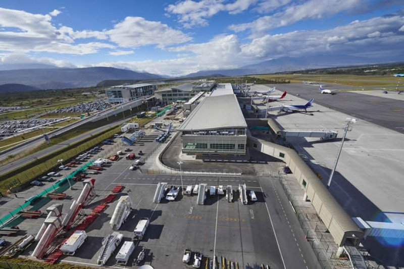 Aeropuerto Internacional de Quito.
