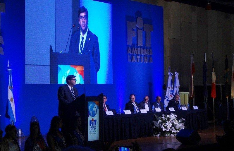 En la apertura de la FIT, 2018 Fabricio Di Giambattista traspasará la presidencia de FAEVYT a Gustavo Hani.