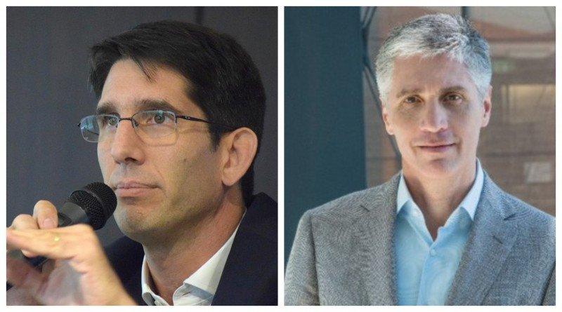 Izq a dcha: Abbott Reynal y Luis Malvido.