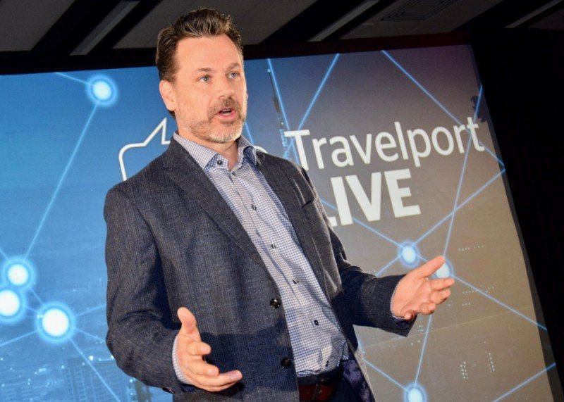 Robert Brown, vicepresidente del Grupo Travelport y Director General del negocio de OTAs