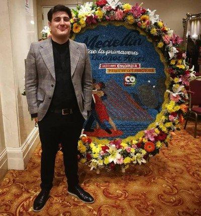Moisés Vitola, Coordinador de Promoción de Medellín Convention