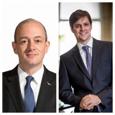De izq a dcha: Nicolás Ferri y Luciano Macagno.
