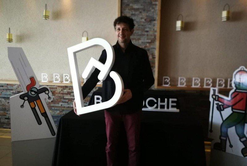 Gustavo Stecher, diseñador de Menos es Más.
