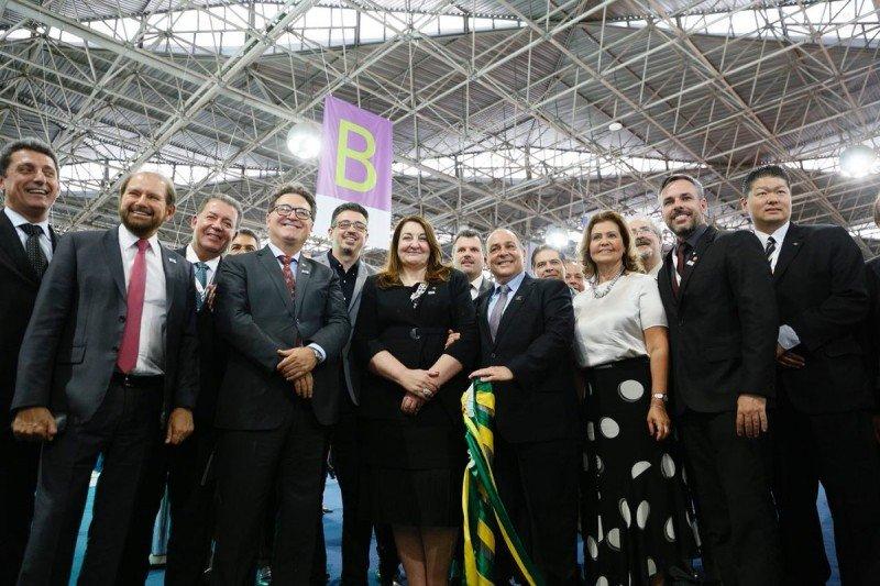 Apertura de ABAV Expo y Encuentro Braztoa en Sao Paulo este miércoles.