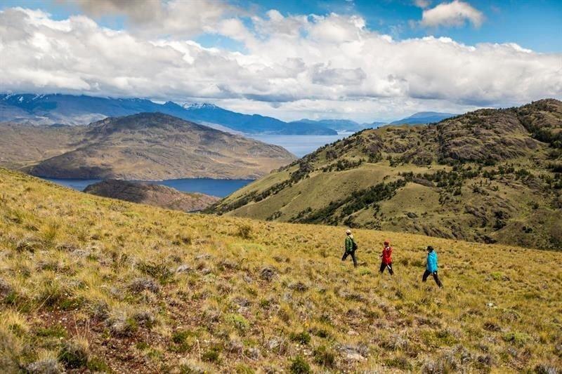 Chile lanza una red de senderos de 2.800 km por la Patagonia