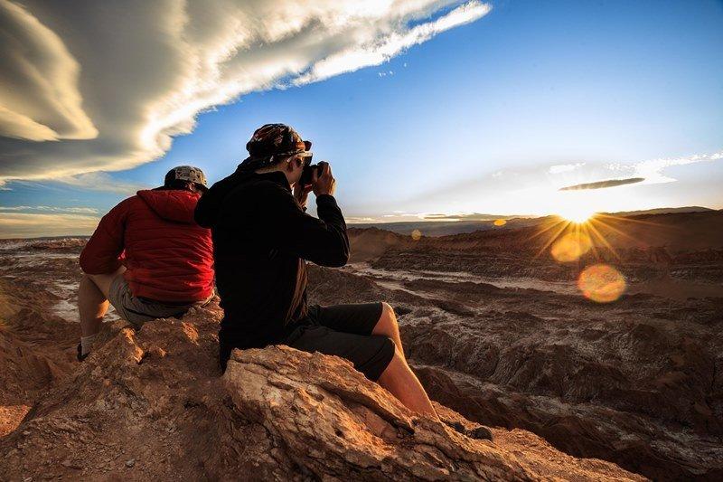 Valle de la Luna, San Pedro de Atacama. Foto: Turismo Chile.