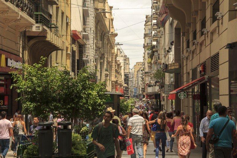 Los dólares en Argentina rinden más incentivando las compras de los turistas extranjeros (Foto: Ente de Turismo de Buenos Aires)