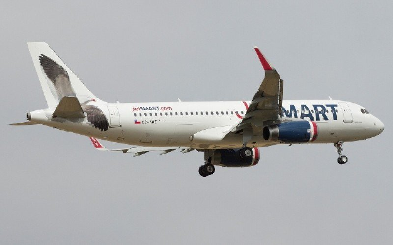 JetSMART inicia nueva ruta en Chile y fortalece su flota