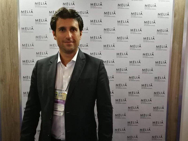 Fernando Gagliardi, director de ventas y marketing para Sudamérica de Meliá Hotels International.