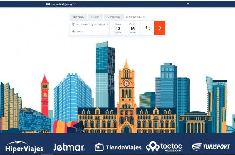 MercadoViajes, la nueva web de 5M Travel Group de Uruguay