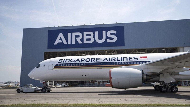 Airbus A350 900 ULR de Singapore Airlines.
